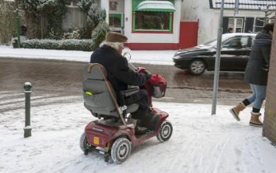 Sterfte en zorgkosten senioren fors hoger in de winter